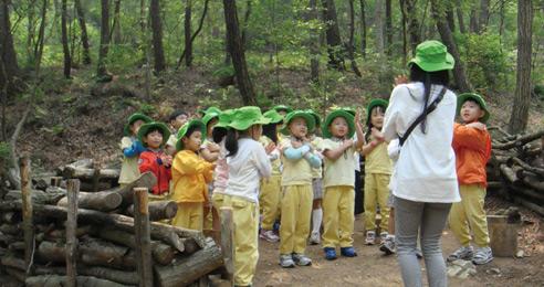 산림청, 유아숲체험원 전국 45개소로 확대
