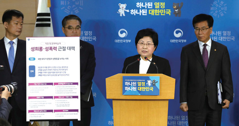권력형 성범죄 형량 상향·공소시효 연장 추진