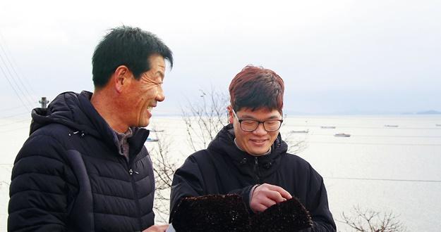'바다의 반도체' 김 수출 일꾼의 포부