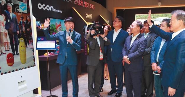 콘텐츠 기업 새 도전에 무담보 투자하고 부처 협업으로 한류스타·중기 상품 개발