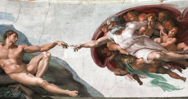 최초의 인간이 탄생하는 순간